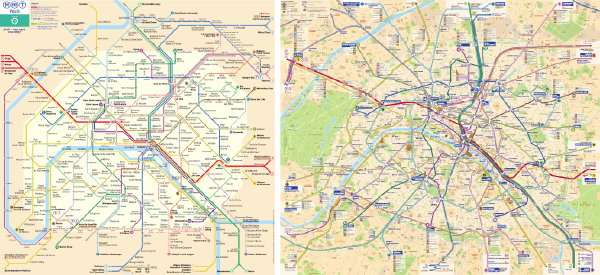 RATP maps