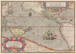 Abraham Ortelius: Maris Pacifici (1589)