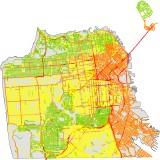 San Francisco noise map (thumbnail)