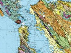 The Map Room SF Bay Area Geology