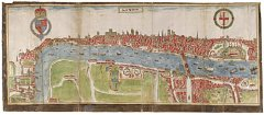 Smith panorama of London, 1588