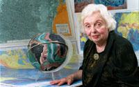 Marie Tharp, 2001