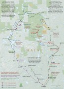 Thoreau-Wabanaki Trail Map (thumbnail)