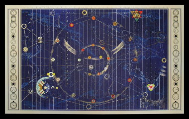 Time portal map replica