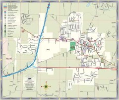 Map of Troy, Illinois