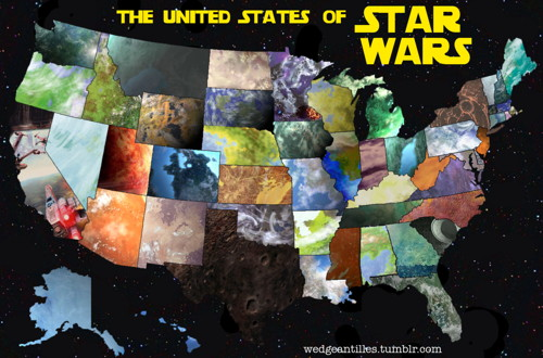 The United States of Star Wars