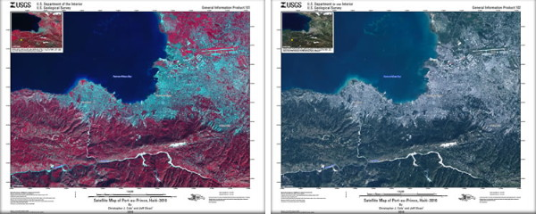 USGS maps of Port-au-Prince