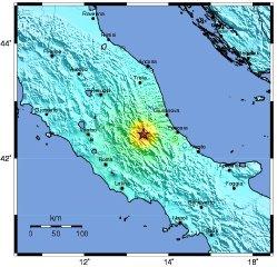 The Map Room Italian Earthquake - Italy earthquake map