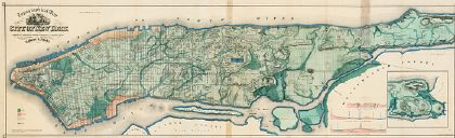 Viele map of Manhattan (thumbnail)