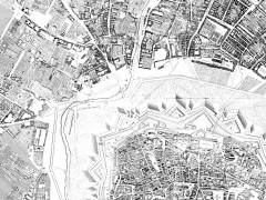 Joseph Anton Nagel u.a., Grundrissplan von Wien mit Vorstädten und Linienwall. 1770-1773 (1780/81).