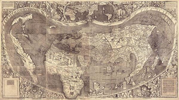 Waldseemüller's map (1507)