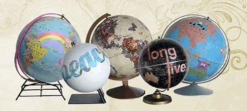 Wendy Gold globes