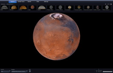 WorldWide Telescope: Mars (screencap)