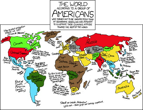xkcd: The World According to a Group of Americans