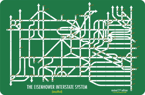 Chris Yates: The Eisenhower Interstate System