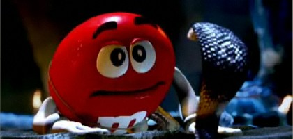 M&Ms Indiana Jones Commercial